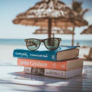 llibres platja