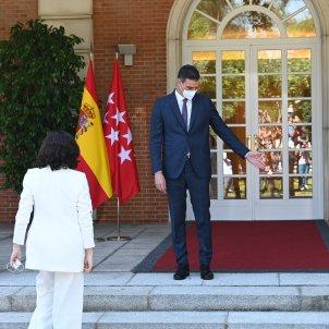 Presidente Gobierno Pedro Sánchez Isabel Díaz Ayuso PP Madrid Reunión Moncloa - Borja Puig de la Bellacasa