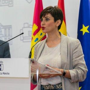 EuropaPress alcaldesa puertollano isabel rodriguez rueda prensa reunirse presidente ministra politica territorial