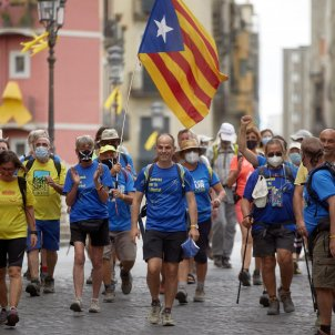 Turull Girona Travessa per la Llibertat EFE