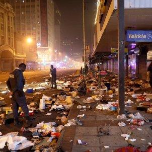 Disturbios sudafrica EFE