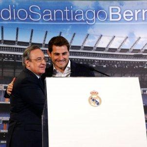 Florentino Perez Iker Casillas Reial Madrid @RealMadrid