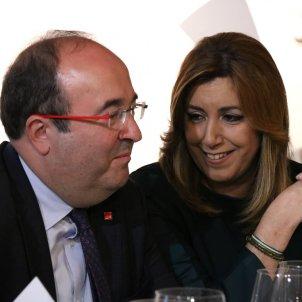 Susana Díaz Miquel Iceta - ACN