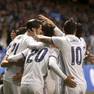 Reial Madrid celebracio Riazor Deportivo EFE