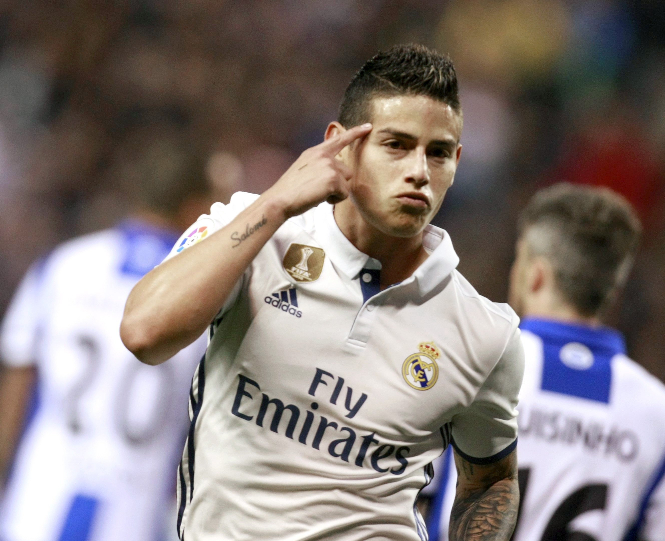 James Rodriguez gol Depor Madrid EFE