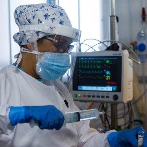 Hospital Clínic, ingresos UCI, Cataluña, enfermeras   EFE