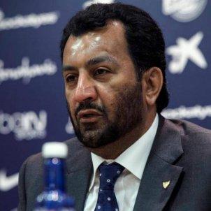 Al Thani president Malaga EFE