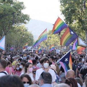 manifestación contra lgtbifobia barcelona carlos baglietto
