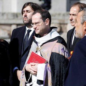 prior basilica santiago cantera junto familiares francisco franco / Europa Press