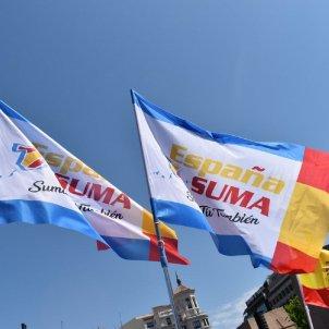 banderas españa suma - españa suma