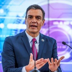 Pedro Sánchez visita Estado Unidos julio 2021 Efe