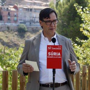 Salvador Ills visita Castellgalí y Súria ACN