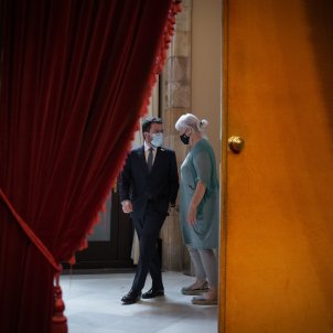 EuropaPress president generalitat pere aragones diputada cup parlament dolors sabater