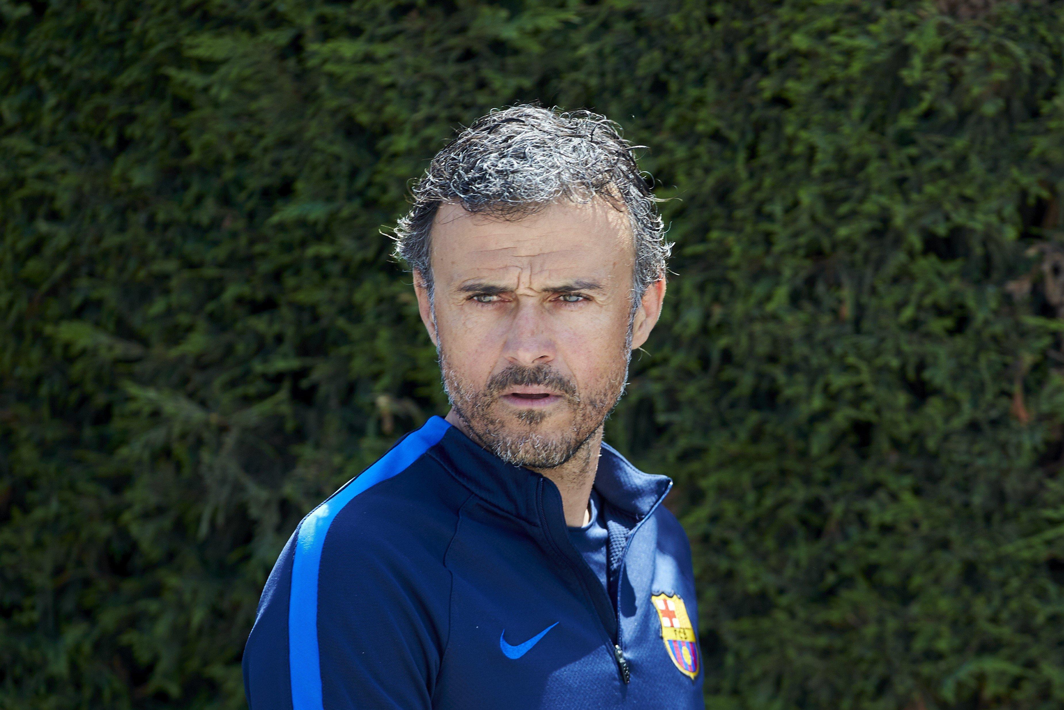 Luis Enrique entrenament Barça EFE