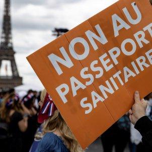 protestas francia passaporte sanitario vacuna covid macron efe