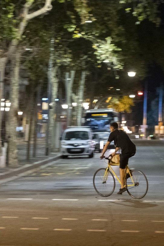 Toque de queda en Barcelona, vacía, coronavirus, noche - Carlos Baglietto