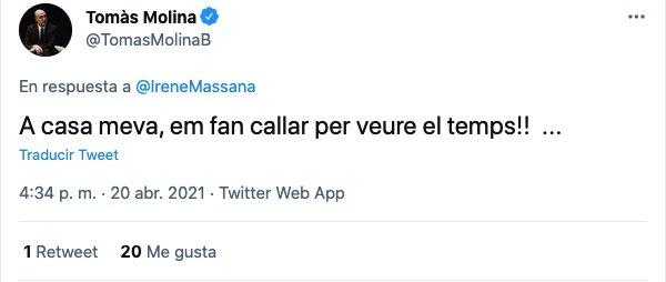 Tweet łapie Batanię o tv3 time وقت