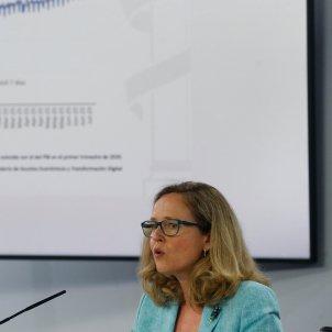 La vicepresidenta primera del Gobierno y ministra de Asuntos Económicos, Nadia Calviño Efe