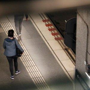 ACN violencia masclista dona sola metro