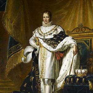 Mor Josep I Bonaparte, el monarca espanyol que mai va regnar a Catalunya. Retrat de Josep I. Font Musée National du Château de Fontainebleau