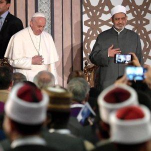 20170428 Papa Francesc a la universitat Al Azhar, El Caire, Egipte