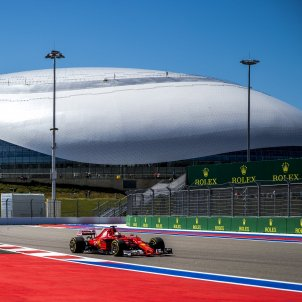 Sebastian Vettel Ferrari GP Rússia Sotxi Fórmula 1 Efe