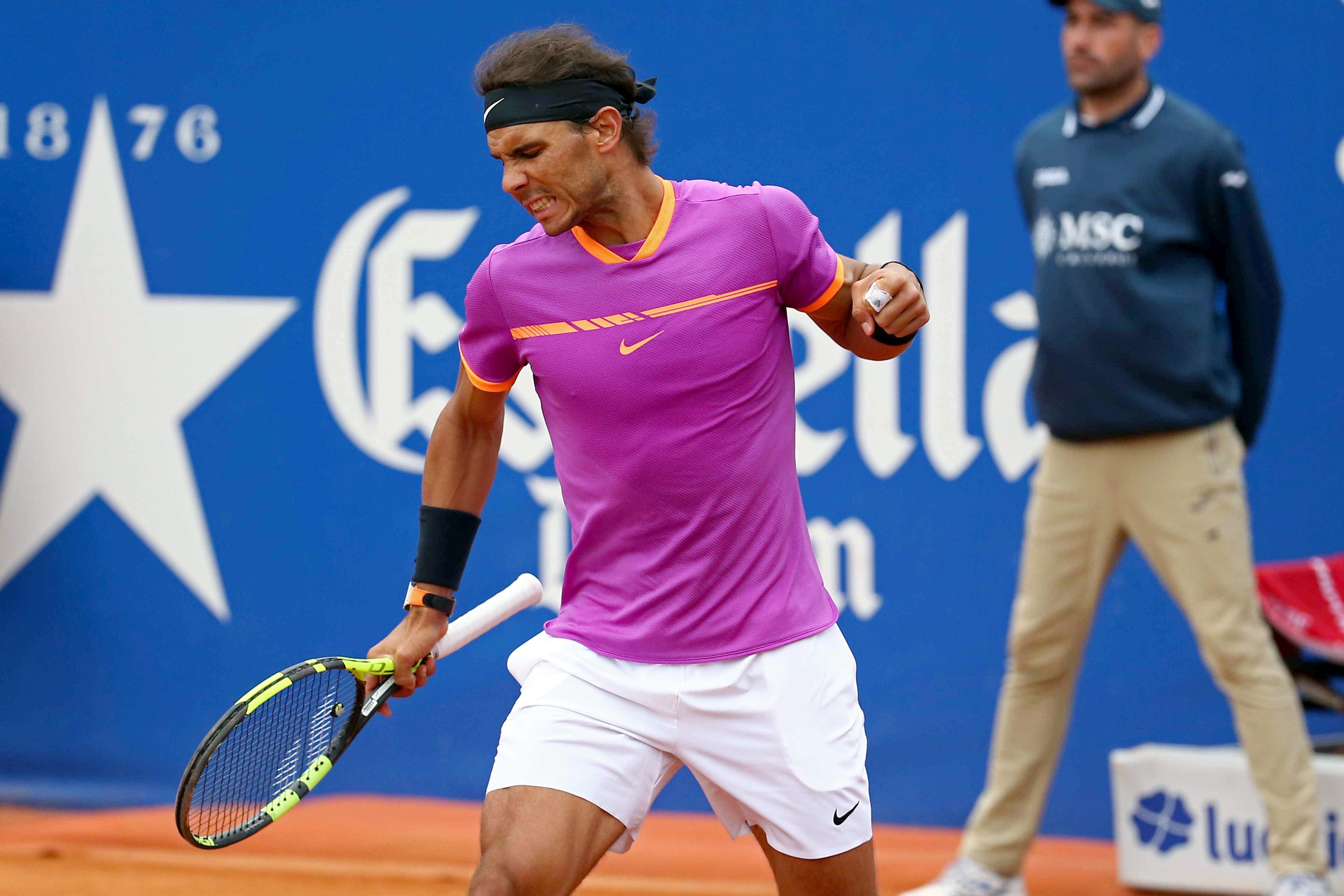 Rafa Nadal Open Banc Sabadell Trofeu Comte Godó Efe