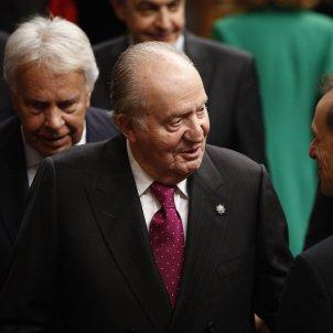 rey emerito don juan carlos acto conmemorativo 40 aniversario constitucion / Europa Press