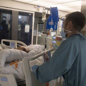 UCI Hospital del Mar, enfermeras, coronavirus Carlos Baglietto23