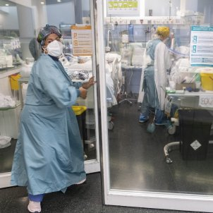 UCI Hospital del Mar, enfermeras, coronavirus Carlos Baglietto27