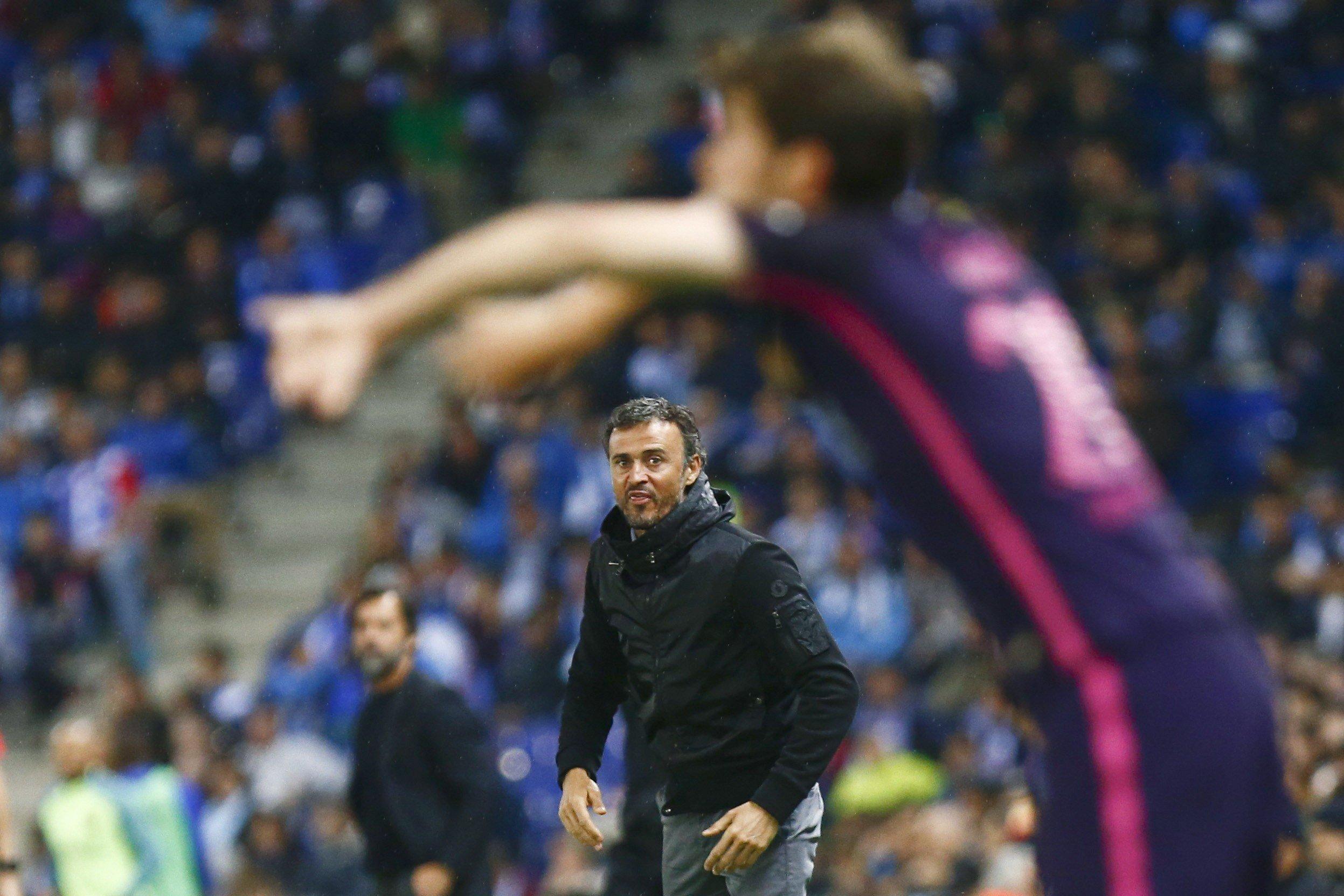 Luis Enrique Espanyol Barça Efe