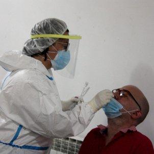 PCR antígenos Covid Centre Cívic el Passeig de la Seu d'Urgell / ACN