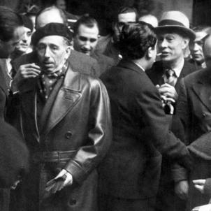 La Generalitat a l'exili facilita l'èxode a Amèrica de refugiats jueus. Companys camí de l'exili. Font Xarxanet