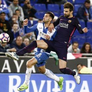 Gerard Piqué Espanyol Barça Efe