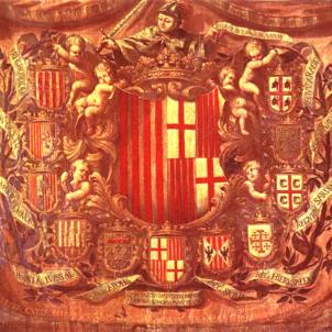 Apoteosi heràldica (circa 1668). Autor desconegut. Font Museu d'Història de Catalunya
