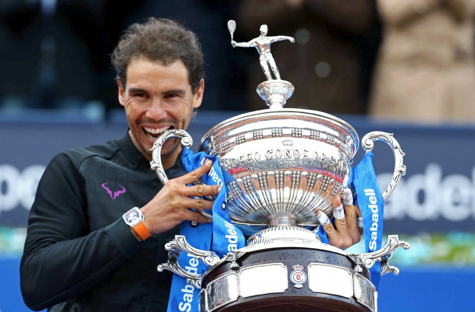 Rafa Nadal Open Banc Sabadell Final Godo Efe