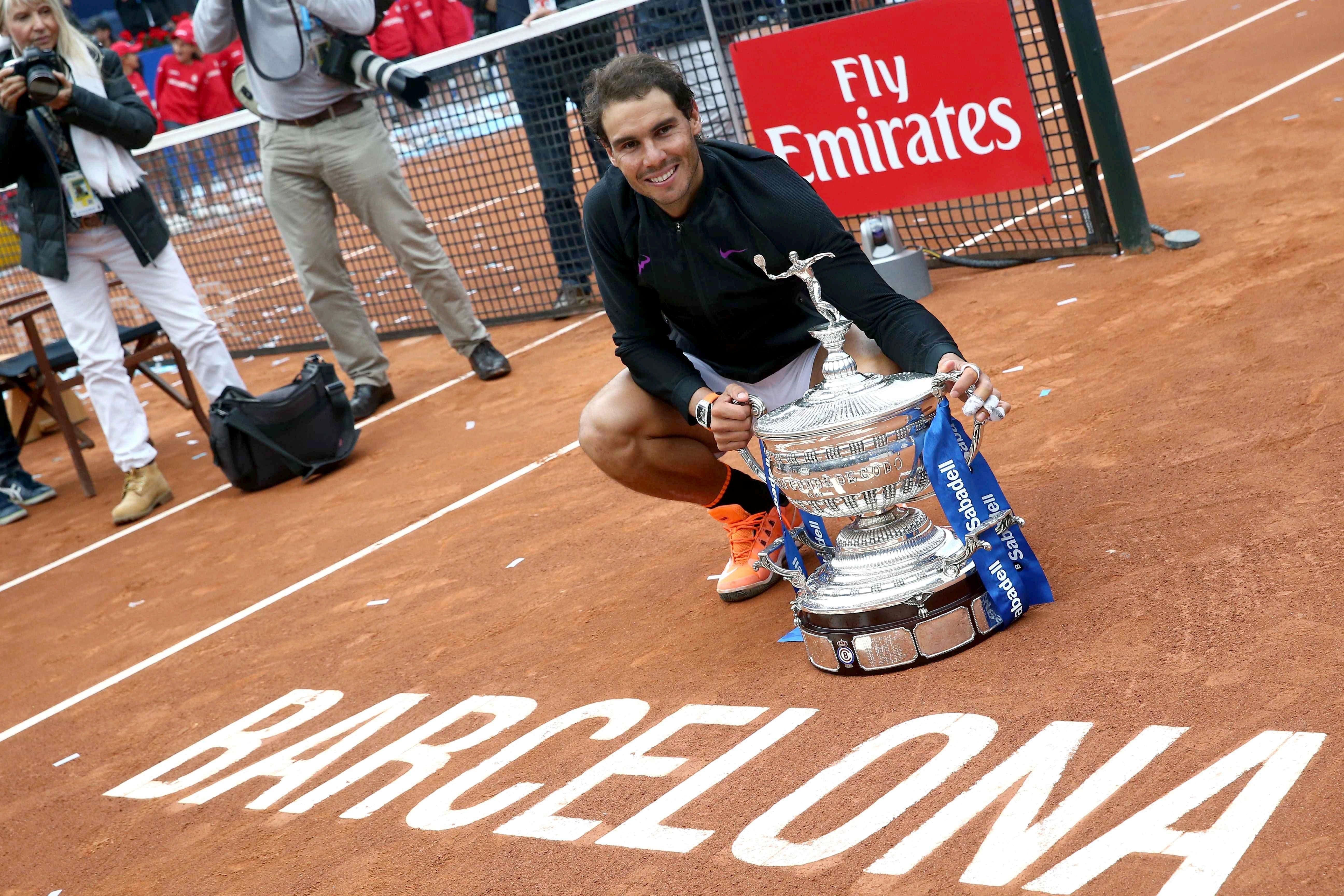 rafa Nadal Godo Open Banc Sabadell final titol EFE