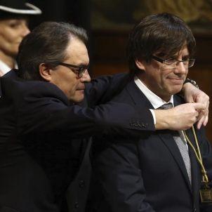 Artur Mas-Carles Puigdemont-CDC-efe