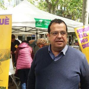 Elena manifestació 1 de maig
