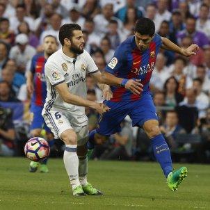 Luis Suarez Madrid Barça Santiago Bernabeu EFE
