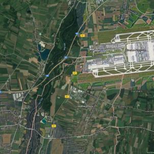 aeroport munic jove violada maps