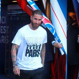 Sergio Ramos presentacion PSG EFE