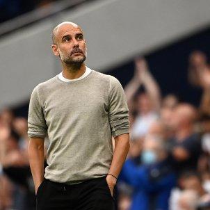 Pep Guardiola Manchester City mirada EFE