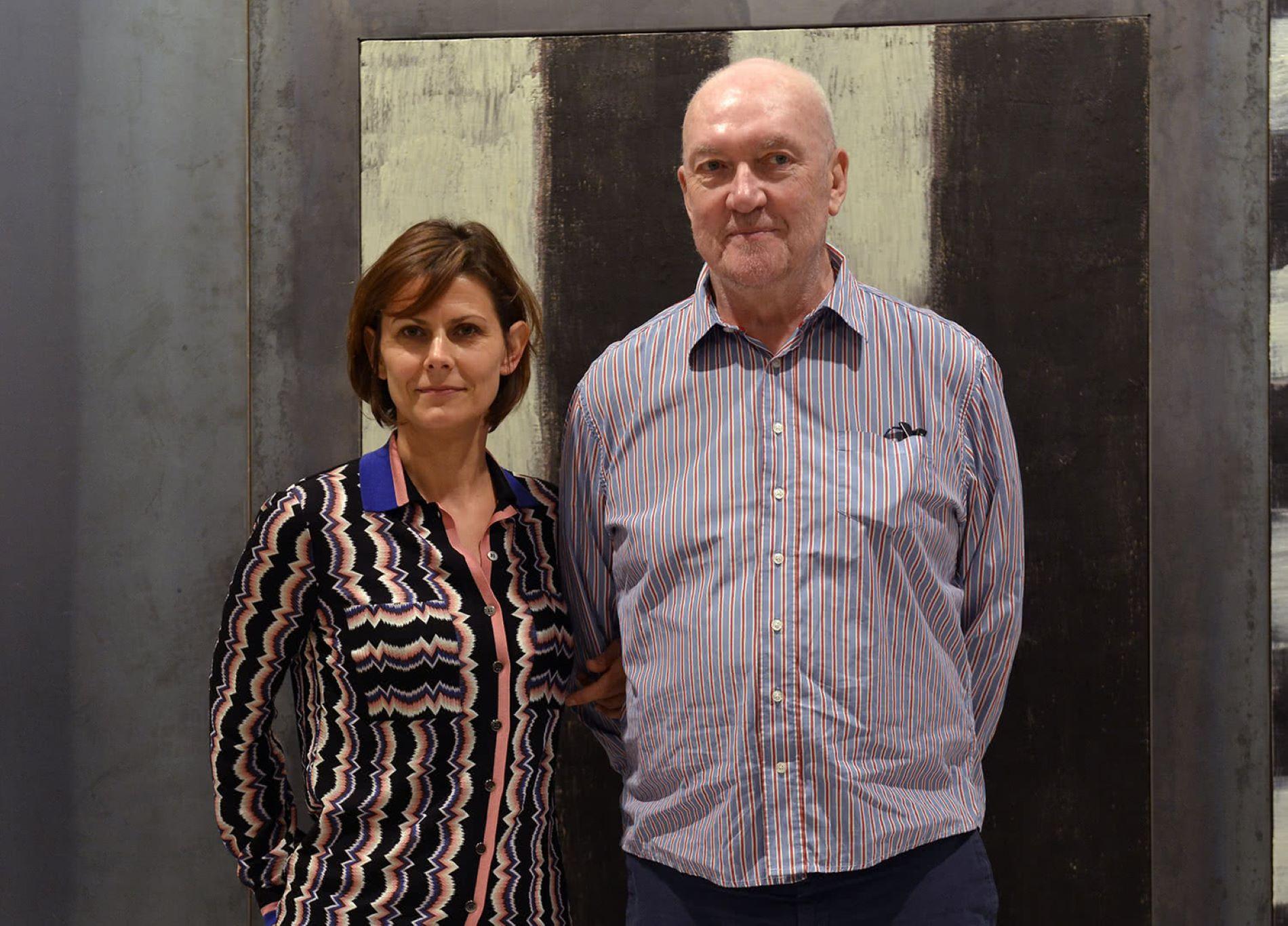 Els pintors Sean Scully i Lilian Tomasko deixen Barcelona pel català