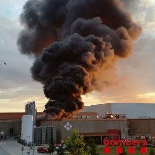 incendi cocacola montornes del valles bombers