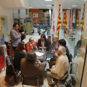 Reunio del Pacte Nacional pel Referendum  Sergi Alcàzar