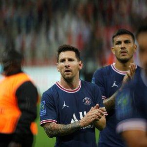 Messi cara triste sorpresa PSG EFE