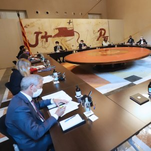 Reunión Govern consell executiu 31 agosto Ruben Moreno