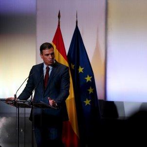 Presidente del gobierno, Pedro Sánchez curso político recuperación justa - Efe