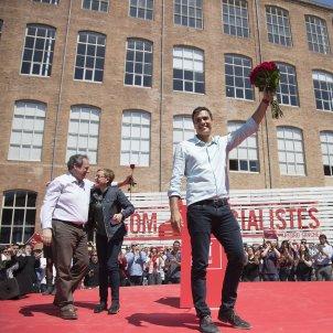 SANCHEZ CATALUNYA PRIMARIAS PSOE EFE